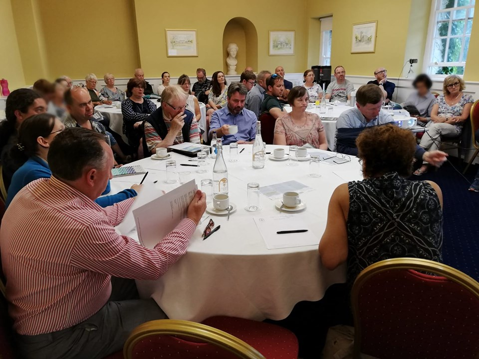 Climate meeting, Celbridge Manor