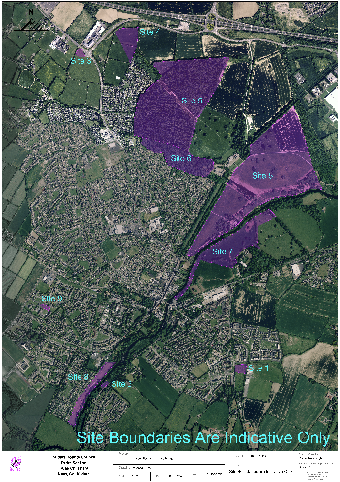 Potential sites for playgrounds or youth facilities