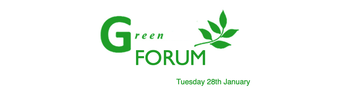 Green Forum – Second Meeting