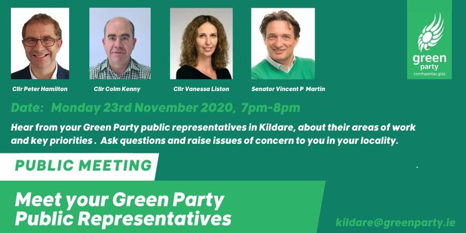 Meet your Green Party representatives!