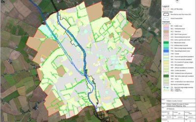 Publication of Celbridge habitat survey GIS data
